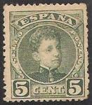 Sellos de Europa - España -  242 - Alfonso XIII