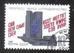 Sellos de Europa - Rusia -  40 aniversario del Consejo de Ayuda Mutua Económica