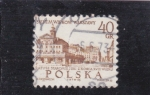Sellos de Europa - Polonia -  panorámica de Varsobia