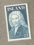 Stamps Europe - Iceland -  Arni Magnusson