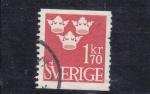 Sellos de Europa - Suecia -  Coronas