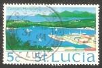 Sellos del Mundo : America : Santa_Lucía : 262 - Puerto de Castries