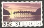 Sellos del Mundo : America : Santa_Lucía : 268 - Bahia de Marigot