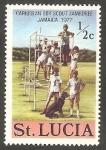 Sellos del Mundo : America : Santa_Lucía : 6ª Reunión de boy scout en el Caribe