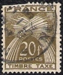 Stamps France -  Timbre Taxe