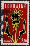 Stamps France -  Lorraine