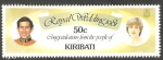 Stamps Oceania - Kiribati -  53 - Boda Real del Príncipe Carlos y Lady Diana Spencer