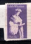 Sellos de America - Estados Unidos -  Edith Wharton