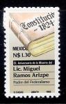 Sellos de America - México -  150 aniversario de la muerte del Lic. Miguel Ramos Arizpe, padre del federalismo