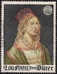 Stamps France -  Albert Durer