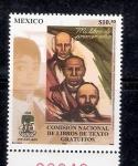 Sellos de America - México -  45 aniversario de la Comision Nacional de los Libros de texto Gratuito