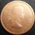 monedas de America - Canadá -  1961 (Anverso)