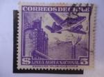 Sellos de America - Chile -  Correo Aereo de Chile