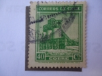 Stamps of the world : Chile :  Cobre.