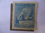 Stamps of the world : Chile :  Salitre