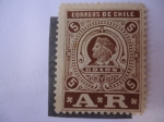 Stamps Chile -  Colón