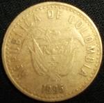 monedas de America - Colombia -  1995 (Anverso)