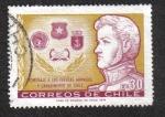 Sellos de America - Chile -  Tributo a las Fuerzas Armadas y Carabineros de Chile