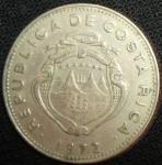 monedas de America - Costa Rica -  1972 (Anverso)