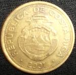 monedas de America - Costa Rica -  2001 (Anverso)
