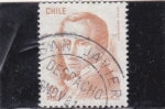 Stamps Chile -  Diego Portales-ministro
