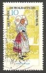 Stamps Germany -  779 - Traje típico de Spreewald