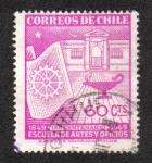 Stamps Chile -  100 años de la escuela de artes y oficios