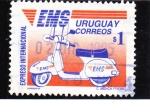 Stamps Uruguay -  servicio de correos EMS