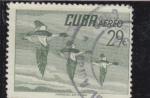 Sellos del Mundo : America : Cuba : bandada de patos