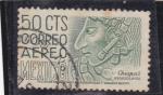 Stamps Mexico -  Chiapas-arqueología
