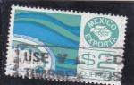 Stamps Mexico -  abulón-Mexico exporta