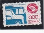 Stamps Mexico -  vehículos-Mexico exporta