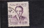 Stamps Morocco -  Hassan II
