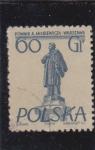 Stamps : Europe : Poland :  monumento
