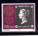Sellos de America - México -  150 años de la emisión de la primera estampilla postal