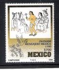 Sellos de America - México -  Stamp World, London, 1990
