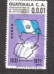 Sellos del Mundo : America : Guatemala : Sesquicentenario de la independencia de Centroamérica, 1821