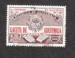 Sellos de America - Guatemala -  Centenario del sello postal, 1871