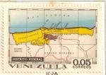 Stamps America - Venezuela -  Mapas de Venezuela