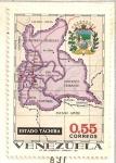 Stamps Venezuela -  Mapas de Venezuela