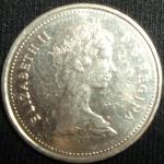 monedas de America - Canadá -  1981 (Anverso)