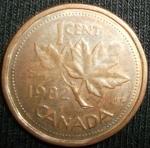 monedas de America - Canadá -  1982 (Reverso)