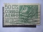 Stamps Mexico -  Chiapas Arqueología