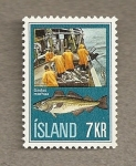Stamps Europe - Iceland -  Pesca