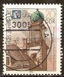 Sellos de Europa - Alemania -  125 años de la Unión Internacional de Telecomunicaciones (UIT) DDR.
