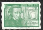 Sellos de America - Chile -  Juan I. Molina, Primer Científico de Chile