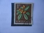 Stamps New Zealand -  Karaka. (S/334)