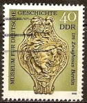 Stamps Germany -  Museo de Historia Alemana en el Zeughaus (DDR).