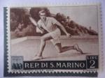 Sellos de Europa - San Marino -  Olimpiadas de Cortina de ampezzo.