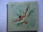 Stamps Hungary -  Magyar Posta - Nepstadion 1953.
